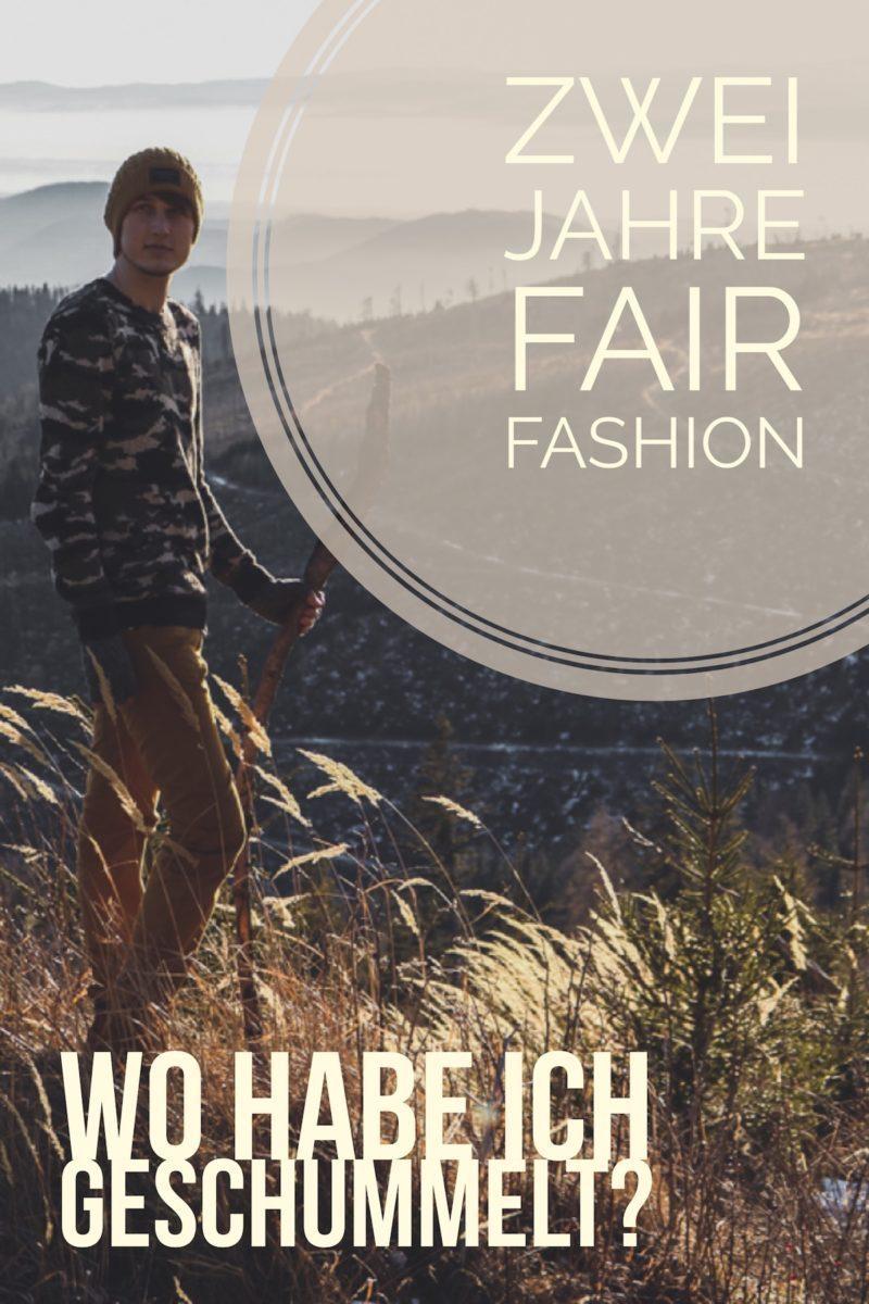 zwei Jahre fair Fashion