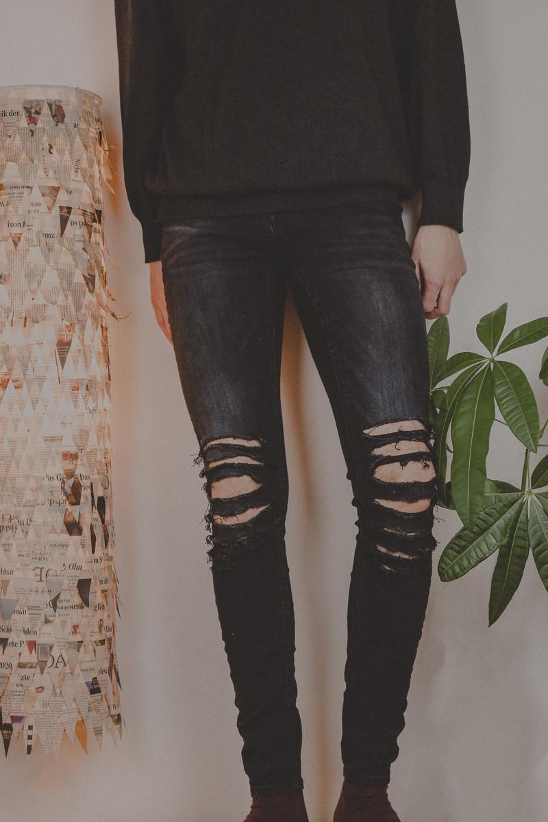 ripped jeans diy 2018 ©Laurel Koeniger