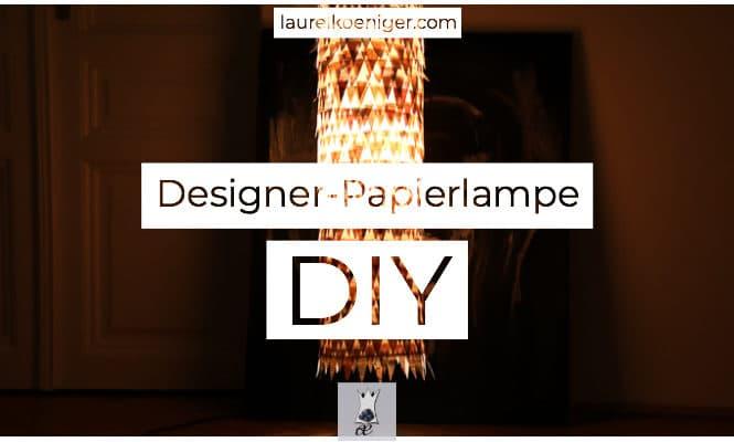 IKEA Papierlampe VERSCHÖNERN | DIY
