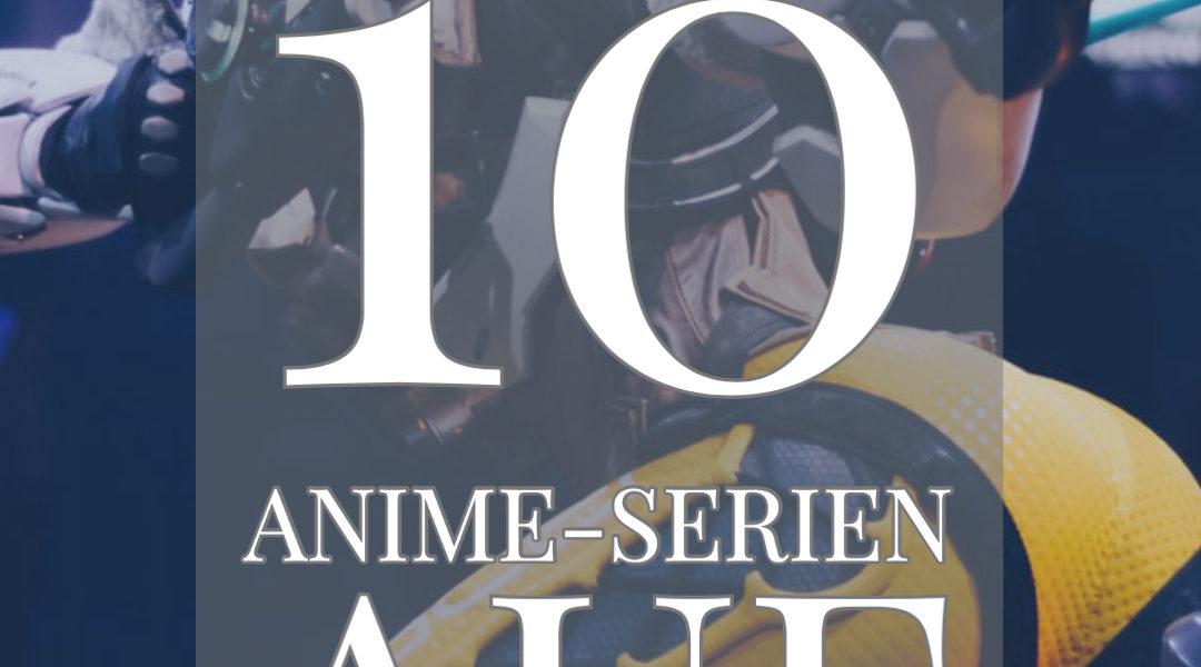Laurels Top 10 | Die besten Anime-Serien auf Netflix