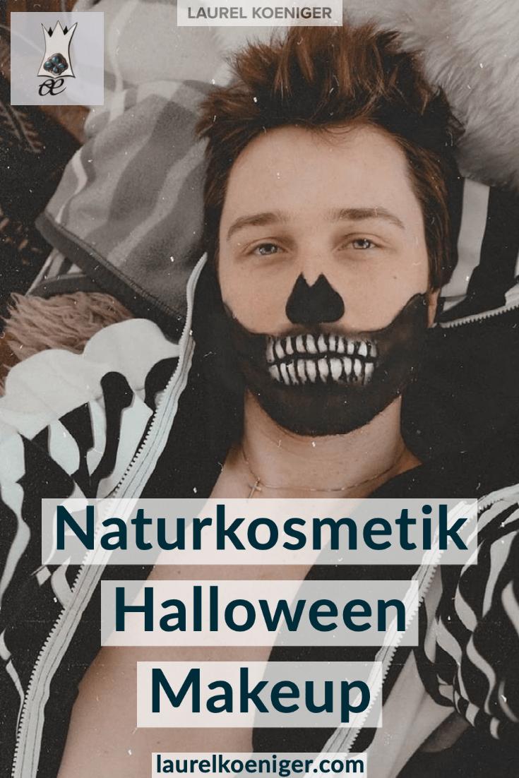 Halloween Makeup mit Naturkosmetik   DIY