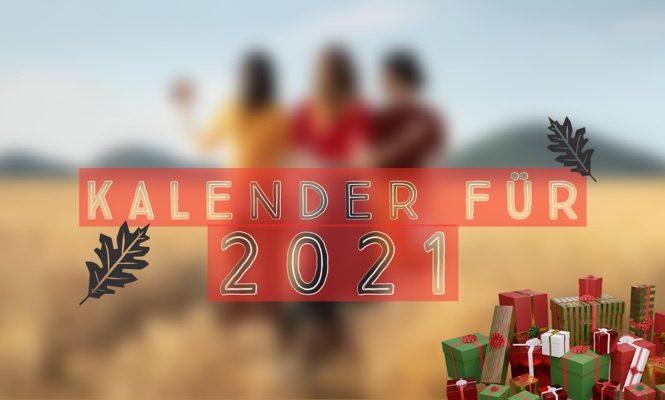 Gewinne Bildgewaltige Foto-Kalender für 2021